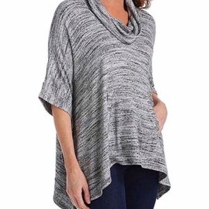 Splendid Cowl Neck Sweater/Poncho